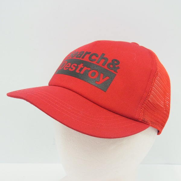 ROUGH AND RUGGED/ラフ アンド ラゲッド Search&Destroy メッシュキャップ