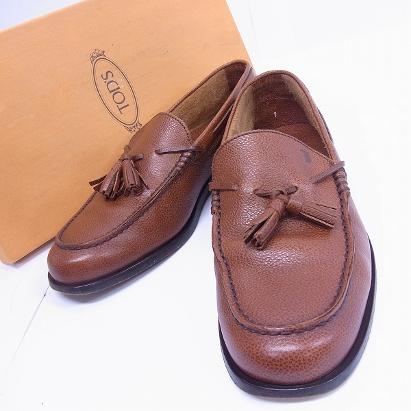 TOD'S/トッズ ドライビングシューズ XXM4017BR895 BRUSHED/7