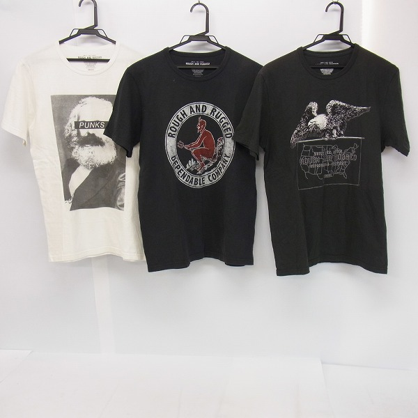 ROUGH AND RUGGED/ラフ アンド ラゲッド プリントTシャツ 3点セット