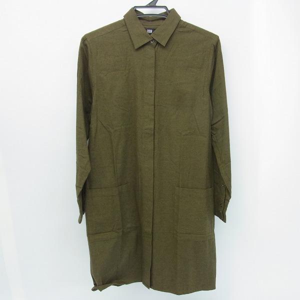 ONITSUKA TIGER×ANDREA POMPILIO/オニツカタイガー×アンドレアポンピリオ ロングシャツ M