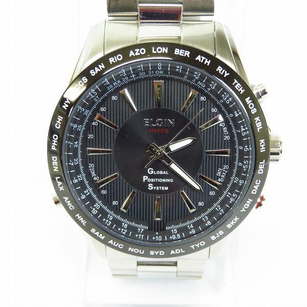 ELGIN/エルジン ELGIN/エルジン 電波 腕時計 GPS2000S-B