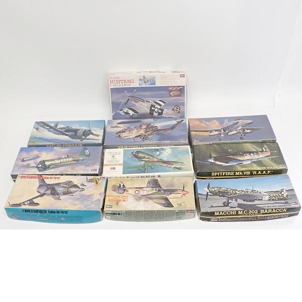 【おまとめ品】ハセガワ /1/72 P-51D ムスタング/AH-1S コブラ チョッパー 他 おまとめ10点