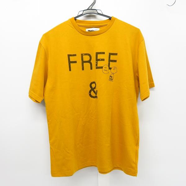 CIAOPANIC TYPE/チャオパニックティピー PEANUTSコラボ スヌーピー チャーリー・ブラウン Tシャツ M