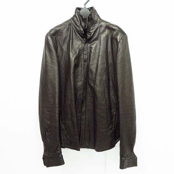 実際に弊社で買取させて頂いたC DIEM/カルペディエム レザーシャツ LUS61-WC10-7/3