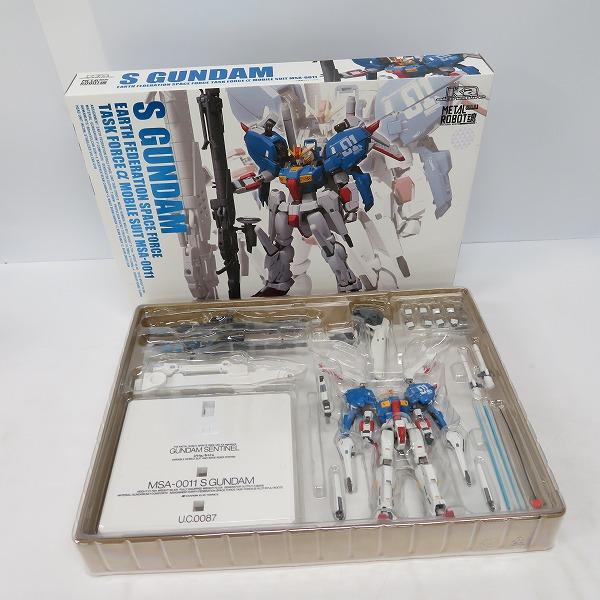 BANDAI SPIRITS/バンダイスピリッツ 超合金メタルロボット魂 S GUNDAM/Sガンダム MSA-0011
