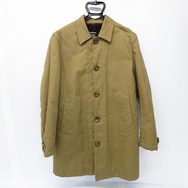 MACKDADDY/マックダディー 裏地ボア ステンカラー コートジャケット/L