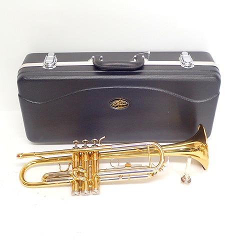 【型番不明】J.michael/ジェイマイケル トランペット マウスピース/ハードケース付き 金管楽器