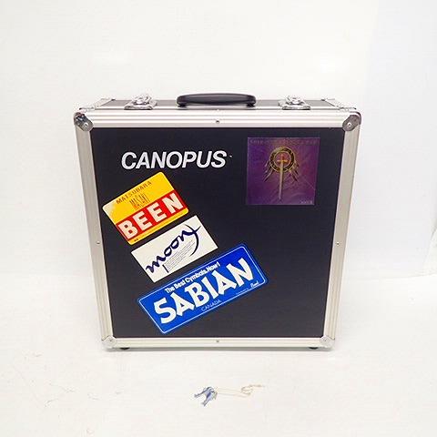 【型番不明】Canopus/カノウプス ピッコロ スネアドラム 用 ハードケース 鍵付