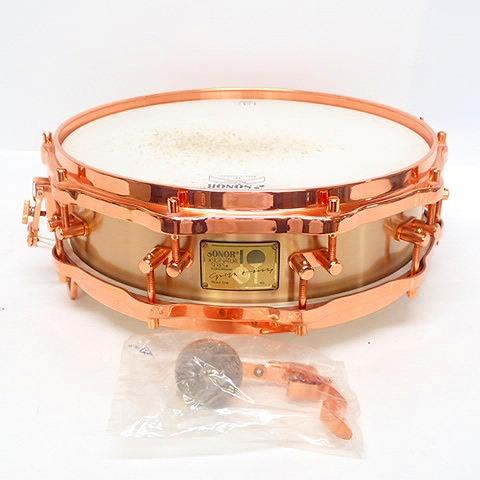 ★SONOR/ソナー Signature Series HLD-593 Bell Bronze Shell 14×4 ベルブロンズ ピッコロ スネア ドラム