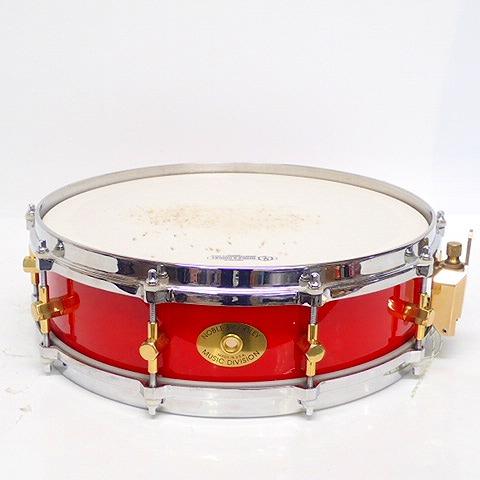 ★NOBLE & COOLEY/ノーブル&クーリー 14×4 ピッコロ スネア ドラム レッド系