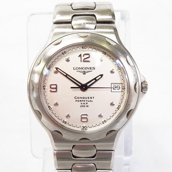 実際に弊社で買取させて頂いた【ジャンク/動作未確認】LONGINES/ロンジン コンクエスト L1.636.4 クオーツ腕時計